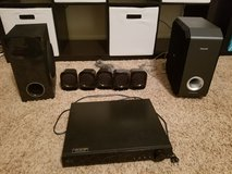 LG home theatre DVD player plus surround sound in Kingwood, Texas