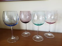 Set of 4 Marquis by Waterford polka dot wine glasses in St. Charles, Illinois