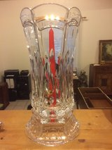 Crystal Candle Holder Vase in Ramstein, Germany