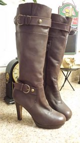 Boots - Brown real leather soft wore once in Yucca Valley, California