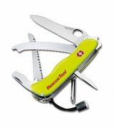 swiss army knife, yellow, new in package in Okinawa, Japan