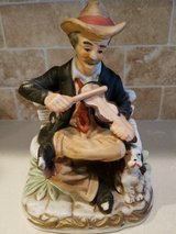 Home Interior - Man with Violin in Kingwood, Texas