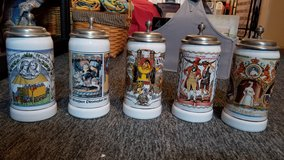 Set of 6 October Fest Stiens for sale in Fairfax, Virginia