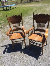 Two captain chairs in Fort Campbell, Kentucky