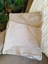 Pair of Pottery Barn pillow covers in Naperville, Illinois
