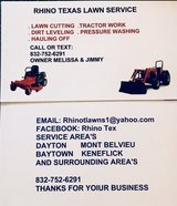 Lawn & Tractor Work in Baytown, Texas