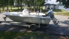 Boat: Sea Fox Skiff 2010 w/Honda 90 and magic tilt trailer in Warner Robins, Georgia