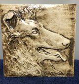handmade Collie Tile in Chicago, Illinois