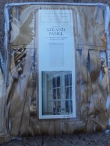 4 Brand New Strand Window Panels With Beads in Kingwood, Texas