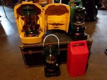 3 Coleman Lanterns with Cases in Fort Leavenworth, Kansas