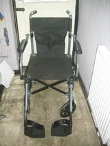 completely folding wheel chair in Lakenheath, UK