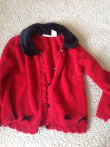 Little girls size M red sweater in Camp Lejeune, North Carolina