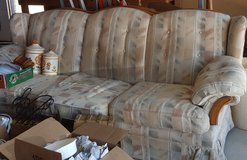 Large sofa & 2 Entertainment Centers in Yucca Valley, California