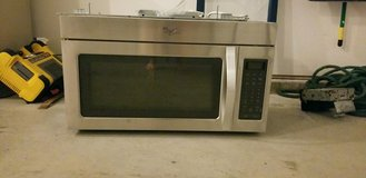 Over the stove microwave in Fort Leonard Wood, Missouri
