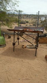 raised pit or grill in Yucca Valley, California