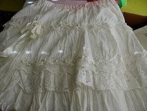 White Tiered Short Skirt size in Byron, Georgia