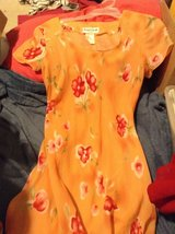Orange flower dress in Warner Robins, Georgia