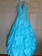 BEAUTIFUL PROM GOWN SIZE 10 W/ ADJUSTABLE LACE UP BACK in Westmont, Illinois