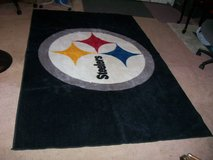 NFL STEELERS FOOTBALL TEAM RUG (NEW!) in Hampton, Virginia