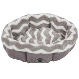 Snoozzy Precision Pet SNZ HZZ Shearling Round Bed in Plainfield, Illinois