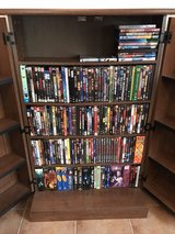 DVD Organizer Cabinet with over 200 movies in Baumholder, GE