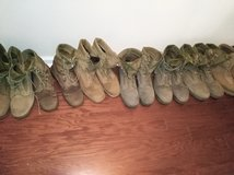 Military boots in Beaufort, South Carolina
