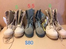 military issue steel toe boots, please read in Okinawa, Japan