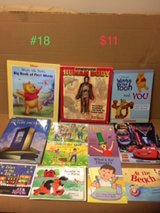 assorted children's books, lot 18 in Okinawa, Japan