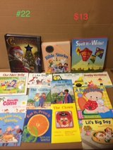 assorted children's books lot 22 in Okinawa, Japan