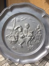 pewter plates in Ramstein, Germany