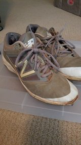 mens size 7.5 new balance baseball spikes. in Houston, Texas