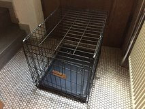 Foldable wire dog crate training cage in Stuttgart, GE