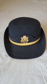 Army Service Hat in Fort Lewis, Washington