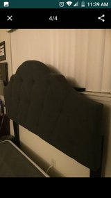 LIKE NEW Queen Size Bed Frame & Steel (METAL) Box Spring in Riverside, California