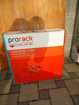 Reduced! Brand New Prorack 3- Bike Trunk carrier in Baumholder, GE