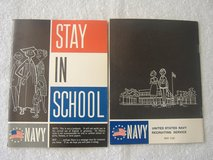 1964 U.S. Navy Recruiting Booklets in 29 Palms, California