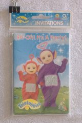 TELETUBBIES Party Invitations (1998) in 29 Palms, California