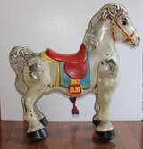 Vintage steel late 1940s Mobo bronco toy riding horse. in Chicago, Illinois