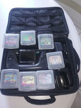 Sega Game Gear System with Bag & 7 Games in Tomball, Texas