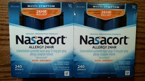 480 Nasacort allergy 24HR non-drowsy sprays in Travis AFB, California
