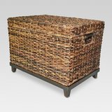 BEAUTIFUL LARGE WICKER STORAGE TRUNK in Ramstein, Germany