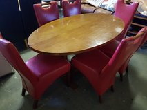 dinner table with 6 chairs in Lakenheath, UK
