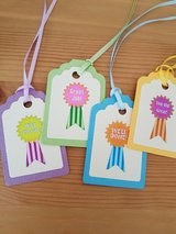 Handmade School Gift Tags, Party Tags, End of school year in Ramstein, Germany
