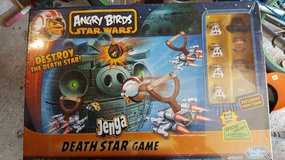 Angry Birds Star Wars Jenga Death Star Game in Joliet, Illinois