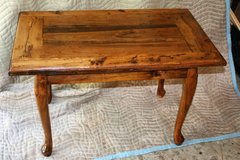 """Coffee Table made from Vintage Reclaimed Wood 34"""" X 20""""h X 21""""h in Camp Lejeune, North Carolina"""
