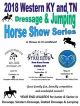 May 19th Dressage and Jump Show in Fort Campbell, Kentucky