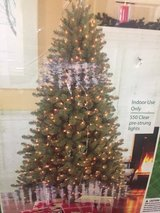Christmas tree in Lackland AFB, Texas