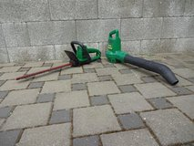 "Electric Weed Eater Excaliber Hedge Trimmer 18"" and Leaf Blower in Ramstein, Germany"