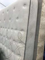 Queen mattress and frame in Fort Riley, Kansas
