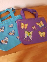 NEW 2 Canvas Bags Handmade Size: 9 x 10.5 inches in Ramstein, Germany
